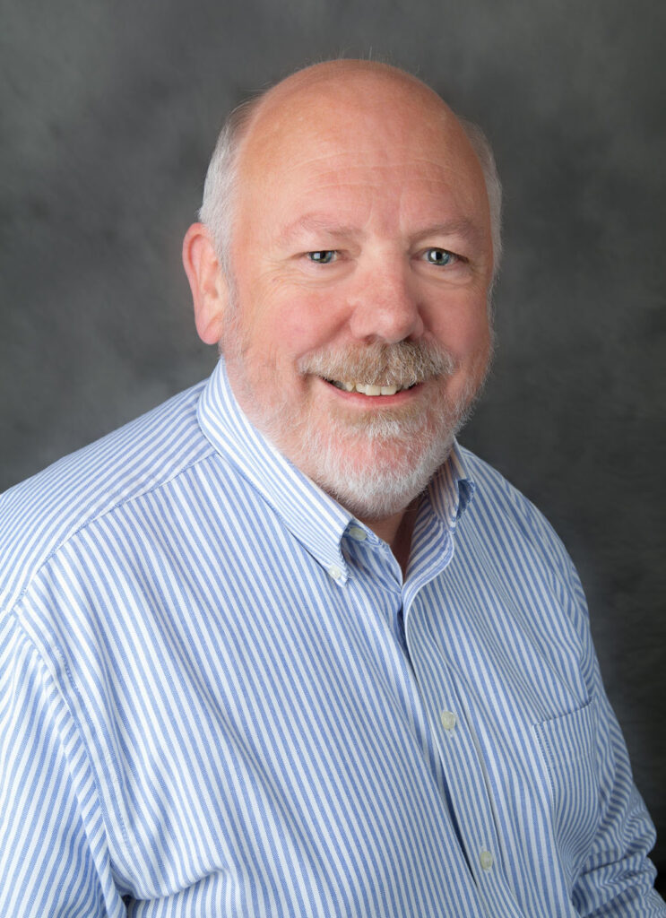 Professional headshot of Nick Little, Director Railway Education with the Broad College's Center for Railway Research and Education.