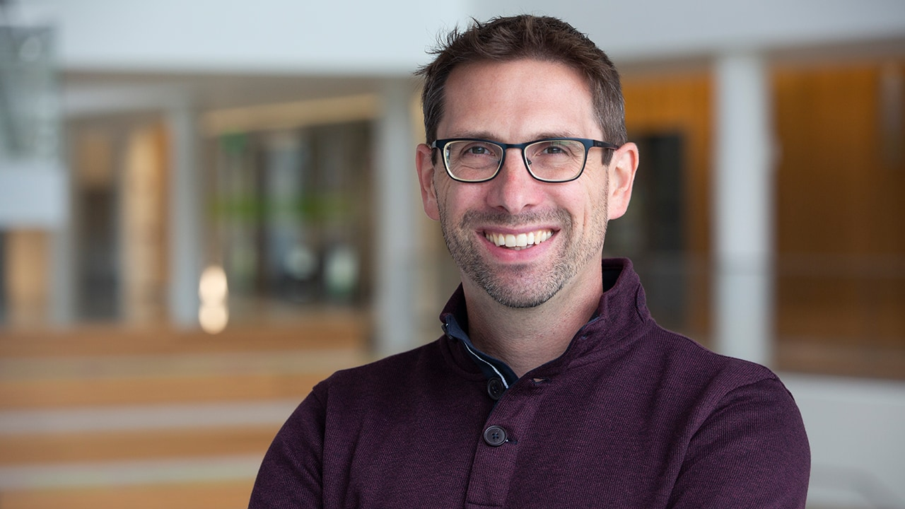 Professional headshot of Jeremy Van Hof, director of learning technologies and development.